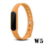 《長江》W5 觸控多功能藍牙心率手環(橘色)