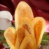 《美雅宜蘭餅》手工超薄牛舌餅-牛奶(大)8片*9包