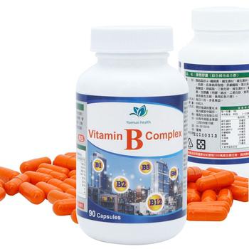 約諾 康體膠囊高單位綜合維他命B群(90顆/瓶)