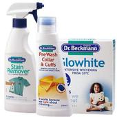 《【Dr. Beckmann】貝克曼博士》德國原裝進口【Dr. Beckmann】貝克曼博士物去漬噴劑+潔淨衣領精+超亮白洗劑組