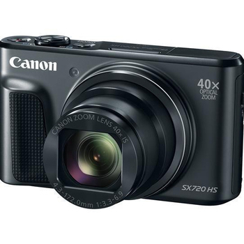 CANON PowerShot SX720 HS 超值送 SanDisk  64GB 記憶卡+NB13L原電(含標配共2顆)+大腳架全配組(黑)