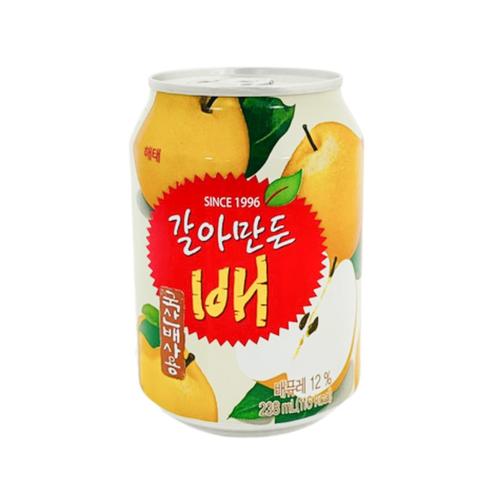 《HAITAI》海太水梨汁(238ml/罐)