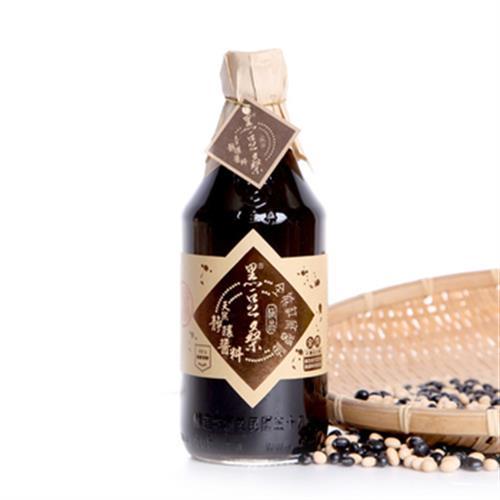 黑豆桑 天然極品全能缸底醬油(550ml)