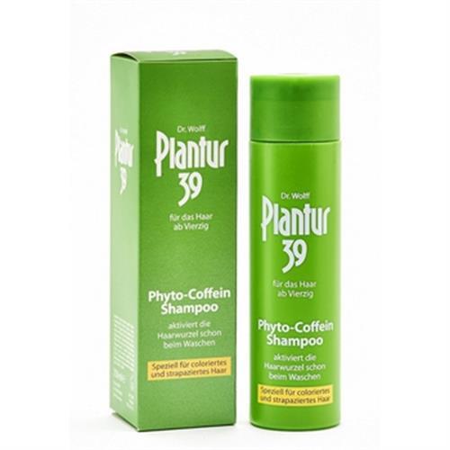 德國Plantur 39 植物咖啡因洗髮露 染燙及受損髮質(250ml)