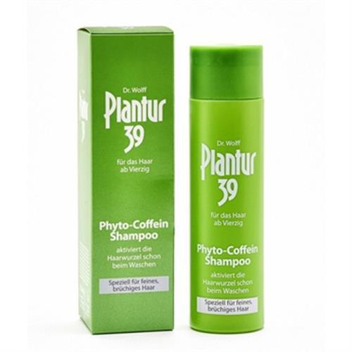 德國Plantur 39 植物咖啡因洗髮露 細軟及脆弱髮質(250ml)