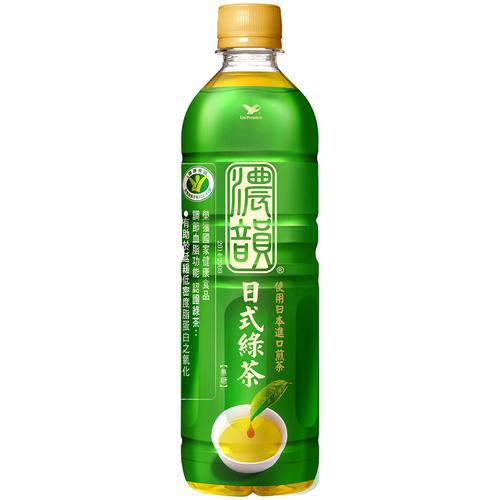 統一 茶裏王濃韻日式綠茶(600m/瓶)