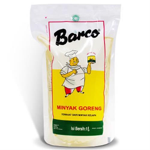 《barco》天然椰子油(1L/袋)