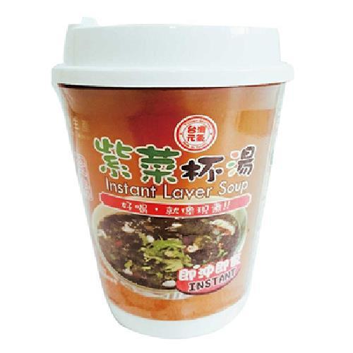 臺旺 紫菜杯湯(9g)