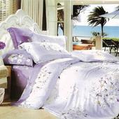 《Victoria》天絲雙人六件式床罩組-花語(5x6.2尺)
