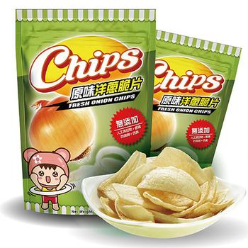淘纖屋 chips 原味洋蔥脆片60g