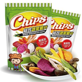 淘纖屋 chips 綜合蔬菜脆片100g