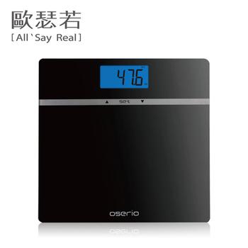 Oserio MES-210多功能BMI體重計(黑色)