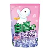 《白鴿》抗菌洗衣精補充包(迷人小蒼蘭香氛2000g)