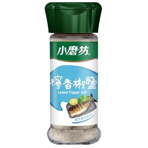 小磨坊 檸香椒鹽(42g/瓶)