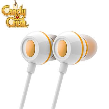 Candy Crush 糖果美眉 入耳式音樂耳機麥克風(芒果口味)