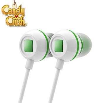 Candy Crush 糖果美眉 入耳式音樂耳機麥克風(青蘋果口味)