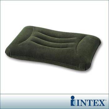 INTEX 多用途《人體工學》植絨充氣枕/護腰枕 (68670)