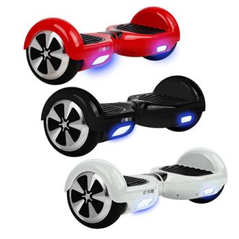 IS愛思 無敵旋風二代飄移電動體感平衡車 體感滑板車-限量送WA-01智慧手錶(熱情紅)