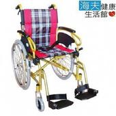 《海夫健康生活館》杏華 鋁合金 脊損型輪椅