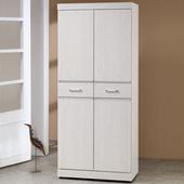 《Homelike》梅琳2.5x6尺鞋櫃(白雪松)