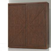 《Homelike》柏得5x7衣櫃(胡桃色)