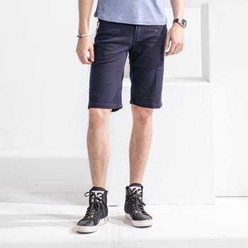 FATAN 紳士潮流風伸縮短褲-共四色(黑30)