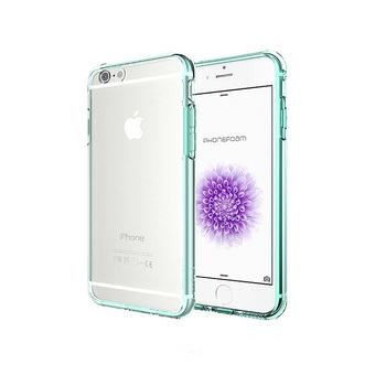 Phonefoam iPhone 6s Plus雙材質TPU+PC強化抗震空壓手機殼(綠色)