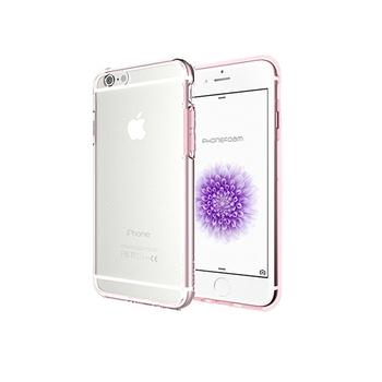 Phonefoam iPhone 6s Plus雙材質TPU+PC強化抗震空壓手機殼(粉色)