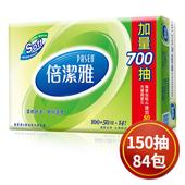 《倍潔雅》超質感抽取式衛生紙150抽*14包*6串