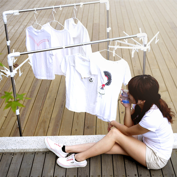 LTB 懂媽咪-日式魔法變型曬衣架