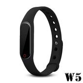《長江》多功能觸控炫彩藍牙心率手環(OLED螢幕顯示)(黑色)