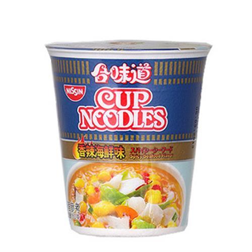 日清 合味道香辣海鮮味杯麵(75g/杯)