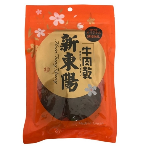 新東陽 原味牛肉乾(100g/包)
