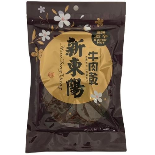 新東陽 麻辣牛肉乾(100g/包)