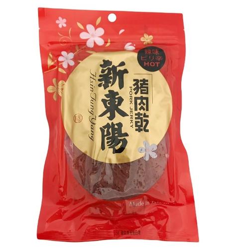 新東陽 辣味豬肉乾(125g/包)