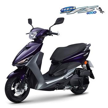 YAMAHA 山葉機車 JOG FS 115 FI 碟煞-2016新車(深紫/灰)