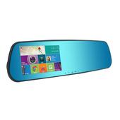 《O'DEL》後視鏡型 導航+行車紀錄器+GPS測速照相提醒(TP-768)