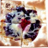 《披薩市》5吋單人獨享-雪梨藍莓起司披薩口味(奶素)(片)