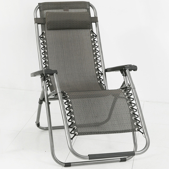 Ashley House 《Ashley House》新一代無段式人體工學透氣休閒躺椅(灰色)