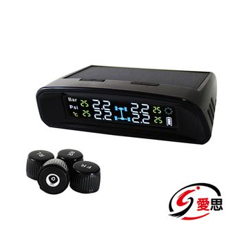 《IS愛思》TP-400e外置太陽能胎壓胎溫偵測器(外置款)