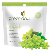 《Greenday》葡萄凍乾(18g/包)(*10包)