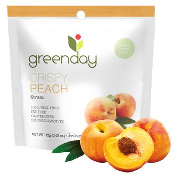 《Greenday》水蜜桃凍乾(12g/包)(*10包)