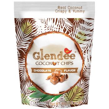 Glendee 椰子脆片(任選)巧克力(40g/包)