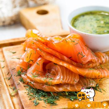 極鮮配 北歐煙燻鮭魚-4包 入(200g±10%/包x4)