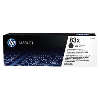 HP 原廠高印量黑色碳粉匣 CF283X 適用 M201/M202/M225(共同)