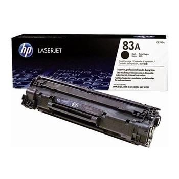HP 原廠黑色碳粉匣 CF283A 適用 M201dw/M125/M127/M225(共同)