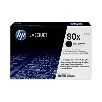 HP 原廠高容量黑色碳粉匣 CF280X 適用 LJ M401/M425(高容量)