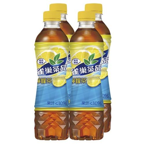 雀巢茶品 檸檬茶(530mlx4瓶/組)
