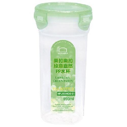 樂扣樂扣 PP水杯690ML/無濾網/果凍綠(HPL934HGO-01)