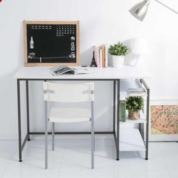 Ashley House 多瓦特多功能工作桌(2色選擇)(白色)